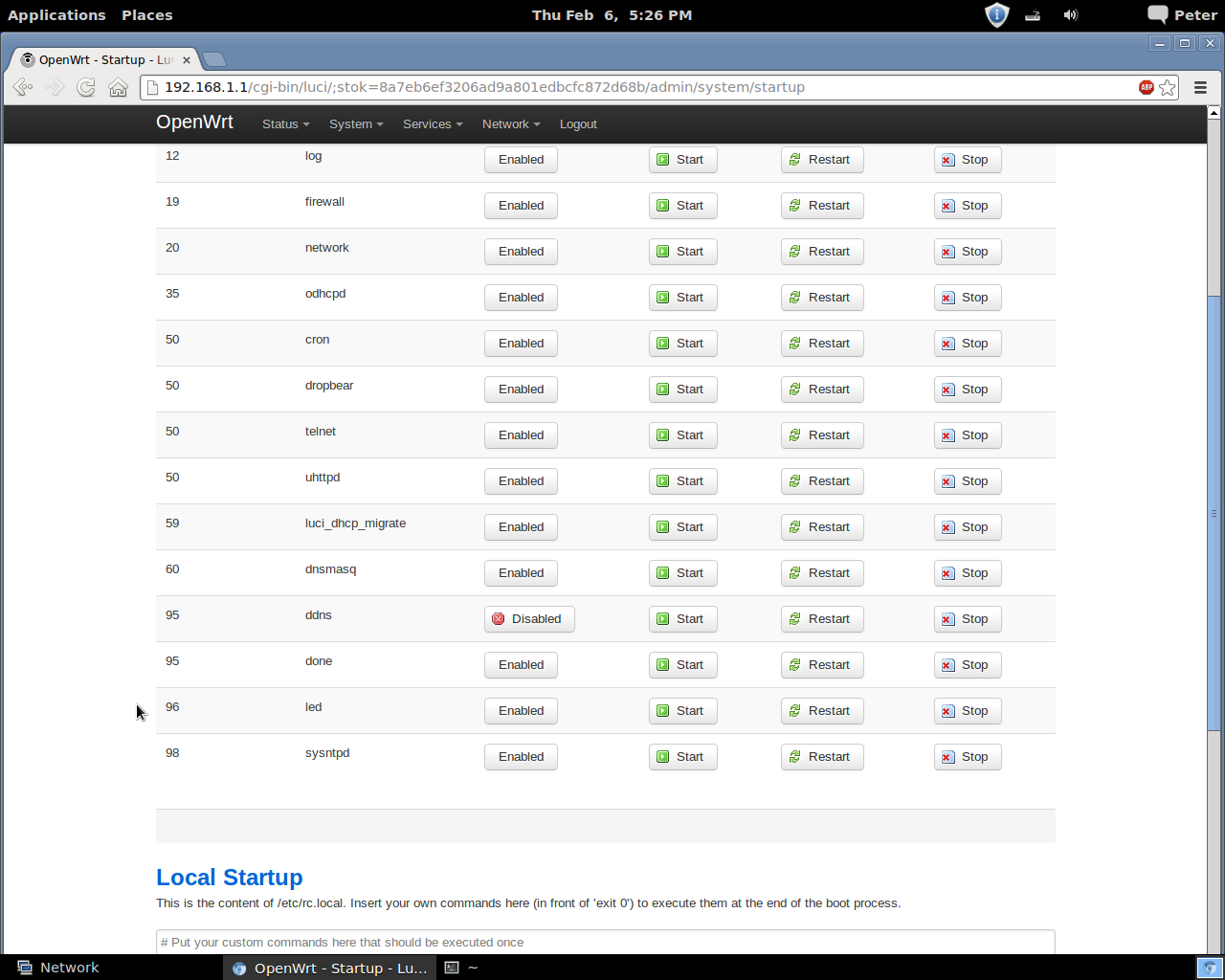Installing OpenWrt on WD MyNet N600 - pebra net